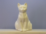 Ceramic Cat Toilet Brush Holder