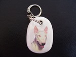 English Bull Terrier Keyring