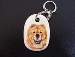 Chow Chow Keyring