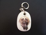 Great Dane Keyring