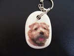 Norfolk Terrier Keyring